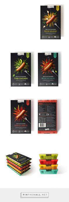 Sausage packaging design & food illustrations // Repinned by www.strobl-kriegner.com