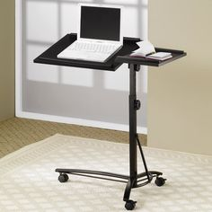 Wildon Home Adjustable Laptop Cart