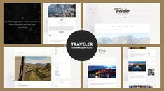Traveler - Travel Blogger Theme - ModelTheme Blog Websites, Themes Themes, Travel Themes, Blogger Themes, Wordpress Theme, Design Trends, Templates, Creative, Blogging