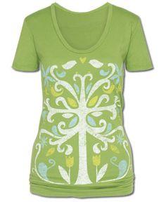 SoulFlower-Symmetree Organic T-Shirt-$26.00 New colors!