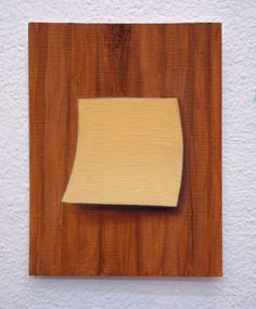 Juan Reos - Notita adhesiva - óleo s papel - 13x16cm - 2014