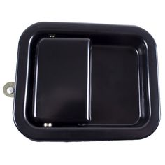 Paddle Door Handle, Black; 81-06 Jeep CJ/Wrangler YJ/TJ