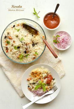 Kerala Mutton Biriyani | Kurryleaves