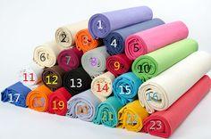 Cheap Colori della miscela 1.5 m larghezza di colore solido tessuto di tela di…