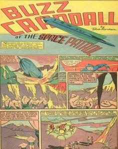 Terra Máxica: Rastreando los Cómics en busca de los orígenes de la Mitología Ufológica I : Planet Cómics 1940-1941