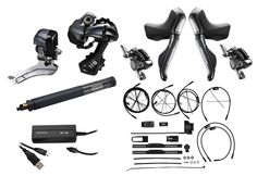 Buy Ultegra Hydraulic Electric-Kit internal (GS variant) at BEST PRICE ✓ Order Shimano Groups at Bike-Discount now! Kit, Stuff To Buy, Shopping, Electric