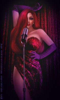 Jessica Rabbit by =DonatellaDrago on deviantART