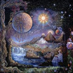 """Doorway to the Stars"" par Josephine Wall"