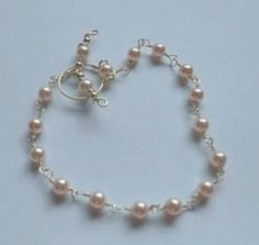Triple Chain Bracelet Part 2 - Basic Beaded Chain - A Wire Wrap Tutorial