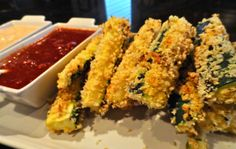 Appetizers – becoming pigzilla Veggie Fries, Zucchini Fries, Veggie Recipes, Snack Recipes, Snacks, Fried Zuchinni, Quick Easy Meals, Appetizers, Yummy Food