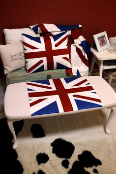I Restore Stuff: Union Jack Coffee Table Transformation