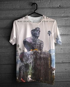 """""""May Death Never Stop You T-Shirt ~ My Chemical Romance by HeyYoungBlood, $39.95"""" I FUCKING NEED THIS RIGHT NOW"""