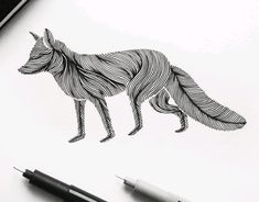 """Check out this @Behance project: """"Animal Lines"""" https://www.behance.net/gallery/43635069/Animal-Lines"""