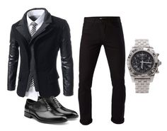 """""""Untitled #33"""" by besirovic ❤ liked on Polyvore featuring 3x1, Jil Sander, Breitling, men's fashion and menswear"""