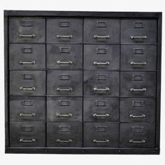 Industrial Metal Cabinet, 20 Compartments Amazing Ideas