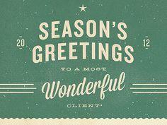 Season's Greetings by Projekt, Inc.