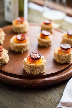 Coconut cornbread with linguiça is one of the many variations of how cornbread is served in Brazil. This coconut cornbread is slightly sweet from the natural sweetness of the coconut, the coconut sugar and very moist.  We added sweet pepper jelly and on top linguiça