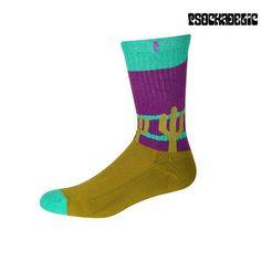 Psockadelic Cooler Cactus Socks