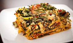 Mushroom & Kale lasagna. Om nom nom