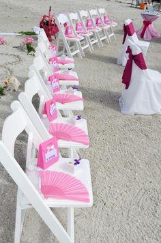 Hochzeit am Strand und Gastgeschenke