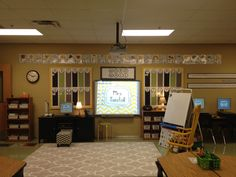 It's time for the reveal of the new classroom theme! Chevron Floral Mix! The goal was to modernize my existing colors while calming the environment and making it feel like a home. Classroom Library Meeting Place Meeting place from the back of the room  Standing at the door looking in  From door (again)  small group …