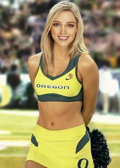 University of Oregon cheerleader Nikki Honeywell Oregon Cheerleaders, Cheerleading Cheers, Hottest Nfl Cheerleaders, College Cheerleading, Cheerleading Pictures, Football Cheerleaders, Cheerleading Outfits, Volleyball Pictures, Softball Pictures