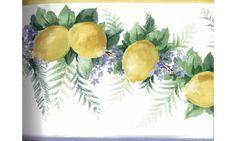 Yellow Lemons KT73374 Wallpaper Border