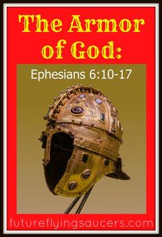 Are you dressed? Why do we need to wear armor? Use a picture of a roman soldier to explain what the armor of God is and how to use it. ~ Another Bible Lesson from futureflyingsaucers.com