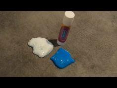 comment faire du slime avec un bâton de colle - YouTube