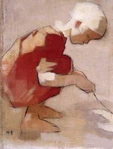 Helene Schjerfbeck, peintre finlandaise (1862-1946)  Artiste indépendante et pionnière en son pays.