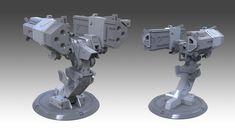 ArtStation - Halo Reach: Rocket Launcher Turret (3d hard surface model), Milton Cadogan