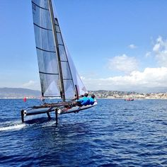 Fantastic weather for the #flyingphantom Series in #Cannes !!