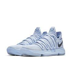 bbaa1405b1b3 Nike Zoom KD10 LMTD Anniversary   897817-900   Men Flyknit Faint Blue Multi  FS