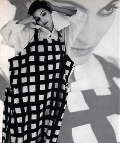 Yohji Yamamoto/Barneys New York, American Vogue, March 1984.  ART DIR