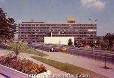 Owen Building, Sheffield Polytechnic from Arundel Gate