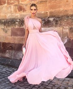 Look Rose, Bow Sights, Best Bow, Ideias Fashion, Elegant, Formal Dresses, Womens Fashion, Pink, Bridesmaids