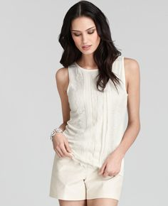 Lace Strips Shell