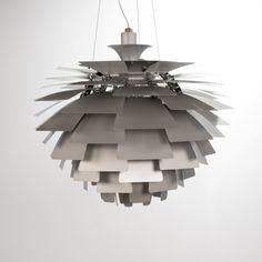 Poul Henningsen hanglamp. Artichoke lamp 56cm. Design Lampen .