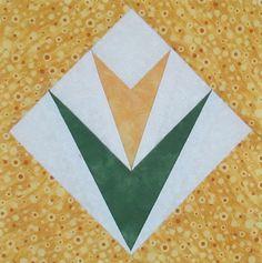 Free Quilt Pattern: Flower #1