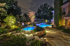 Find great ideas from HGTV Gardens, for landscaping around your swimming pool.