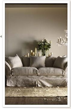 Shabby Chic collection designed by Rachel Ashwell built by Miles Talbott. Scrumptiously comfortable!