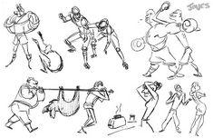 Matt Jones: Gesture Drawing