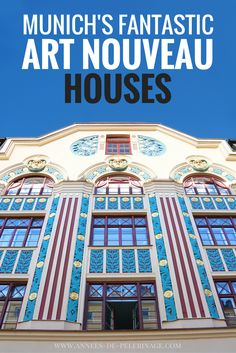 A fantastic walking tour through Munich and it's amazing art nouveau houses. Jugendstil in München. Tourist highlights and information for munich. Europe Destinations, Europe Travel Tips, Spain Travel, European Travel, Euro Travel, Travel Guide, Cities In Germany, Germany Travel, Austria Travel