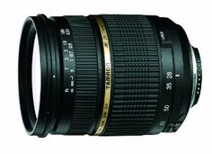 Tamron AF 28-75mm f/2.8 SP XR Di LD Aspherical (IF) with Built-In AF Motor for Nikon Digital SLR Cameras: Camera & Photo - Possibly my next lens at $499!!