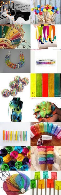 Intoxicating COLOR by LeeAnn Gauthier on Etsy--Pinned with TreasuryPin.com