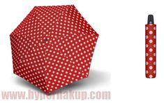 Dáždnik Hit Magic Baloon - dámsky plne automatický , červený s bodkami Magic, Accessories, Jewelry Accessories