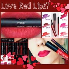 As January comes to an end, we need to start focusing on Valentine's Day.  If you haven't tried our lip stains yet, this is a must have.  They are smudge proof, water proof, and kiss proof.  What color would you like to try?  I have them all.  They only one I haven't tried yet is savvy.  Going to try that this weekend. #2ndglancelashes #younique