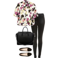 Untitled #1113 by zoella-clothes on Polyvore featuring Topshop, Witchery and Givenchy