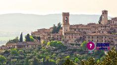 Visitare #Corciano, uno dei Borghi più belli d'Italia e dell'#Umbria