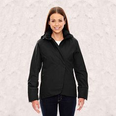 Ash City-North End-Skyline Ladies City Twill Insulated Jackets with Heat Reflect